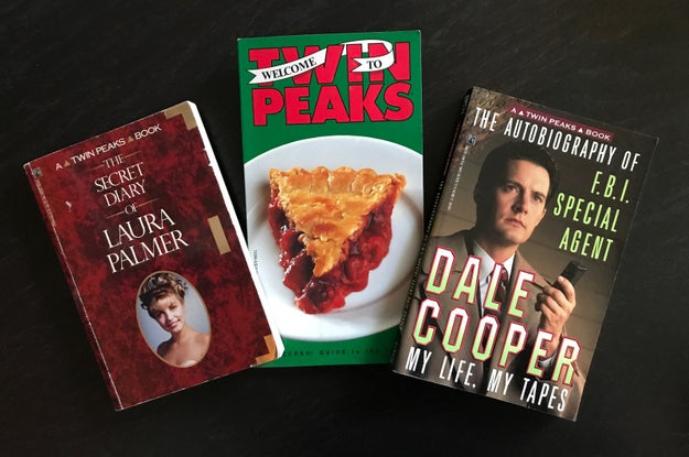 There were three books in total made as companion pieces to the show: The Secret Diary of Laura Palmer, The Autobiography of F.B.I. Special Agent Dale Cooper: My Life, My Tapes, and Welcome to Twin Peaks: An Access Guide to the Town.