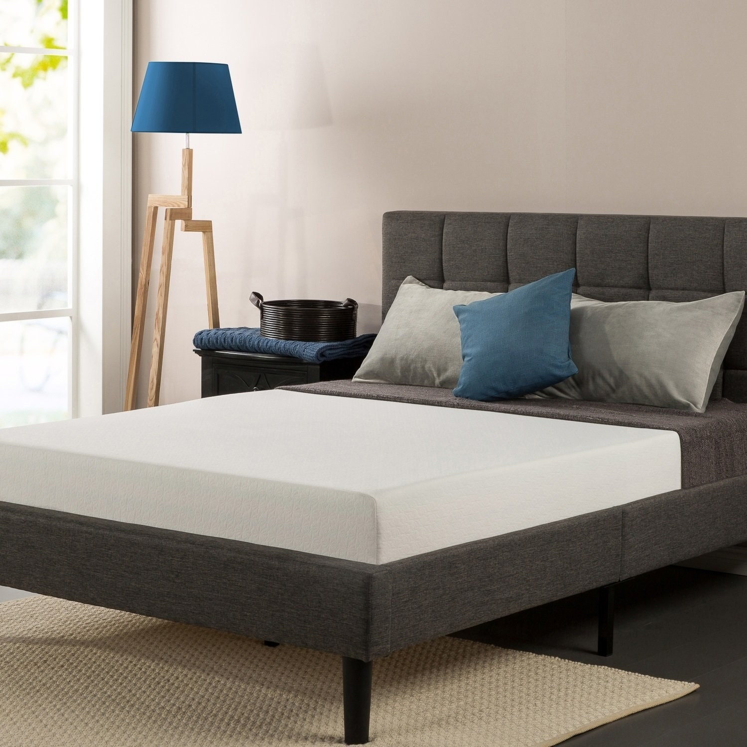 a memory foam mattress thatu0027ll make you late to all your morning