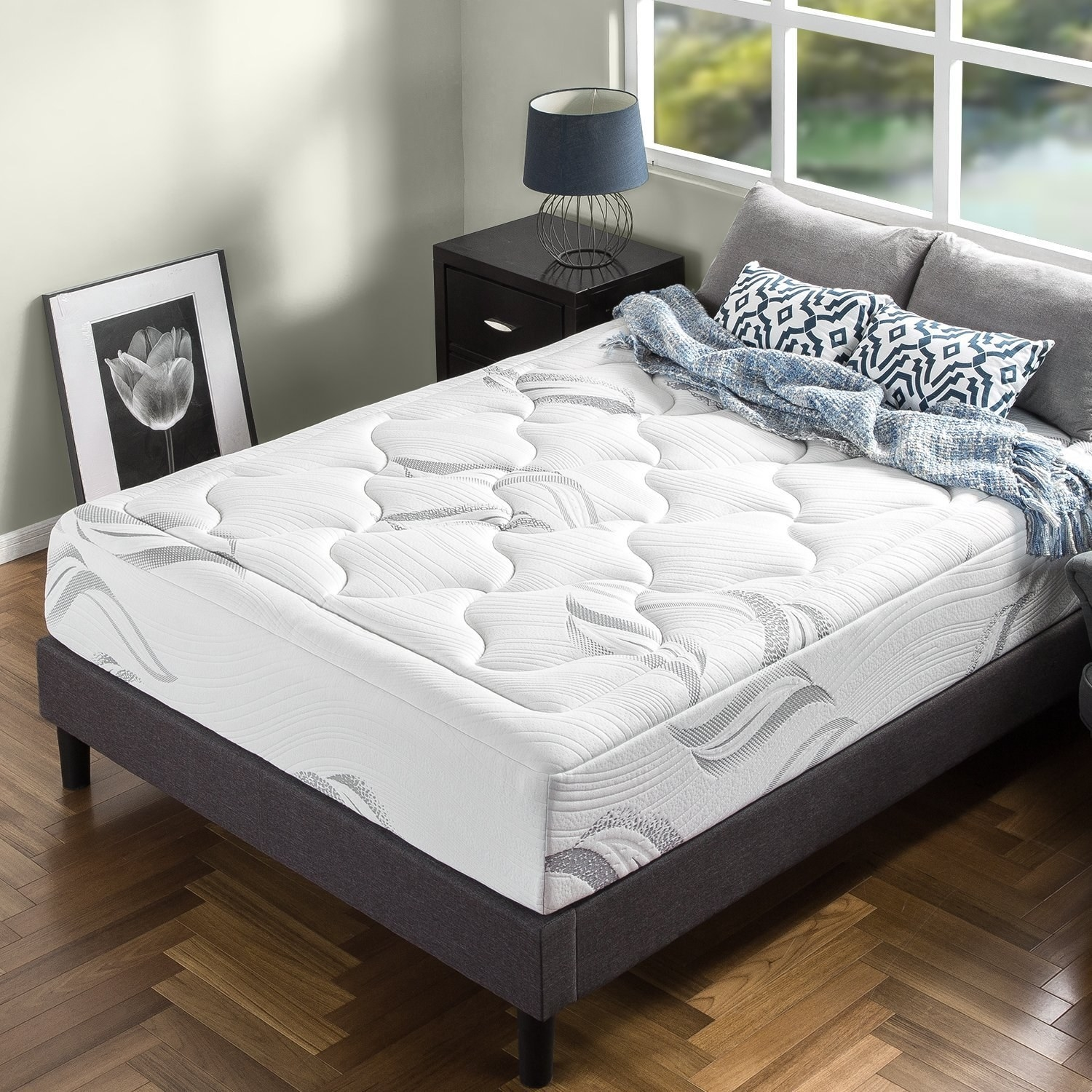 2. This Green Teau2013infused Mattress Meant To Eliminate Typical Mattress  Odors And Feel As Plush As The Clouds!