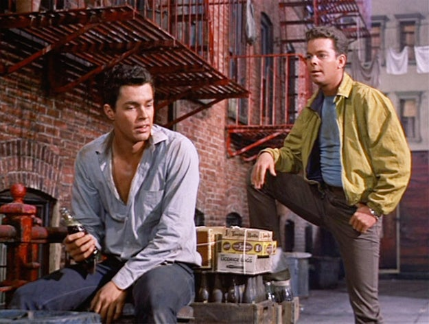 Tamblyn and Richard Beymer (Ben Horne) famously costarred in West Side Story as Riff and Tony, respectively...