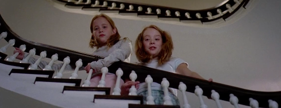 In the film, Runway magazine assistant Andy (Hathaway) is given the responsibility of delivering the publication's next issue to her boss, Miranda Priestly (Streep), at her home, which is where Andy unexpectedly runs into Priestly's daughters.