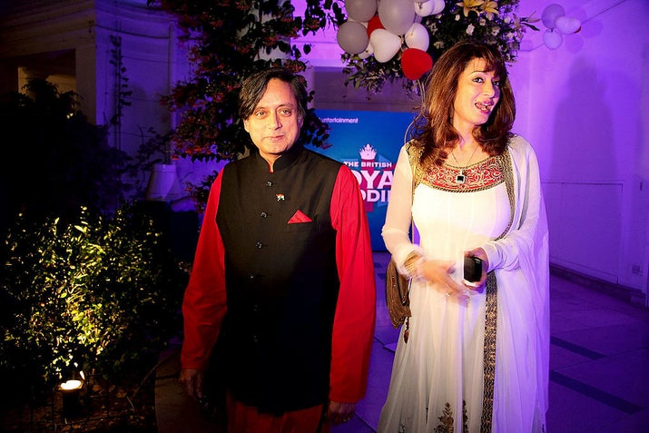 Shashi Tharoor 's Extensive English Became A Joke