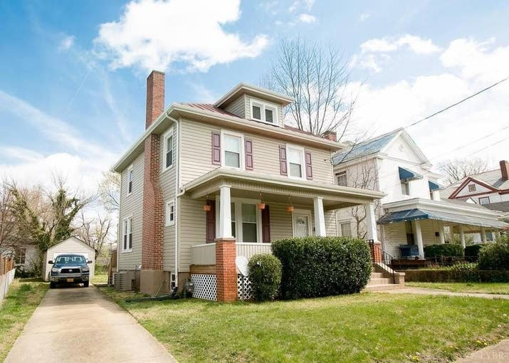 Size: Three bedrooms, one full bathroom and one half bathroom, 1,456 sq. ft. Location: Miller Park neighborhood of Lynchburg.