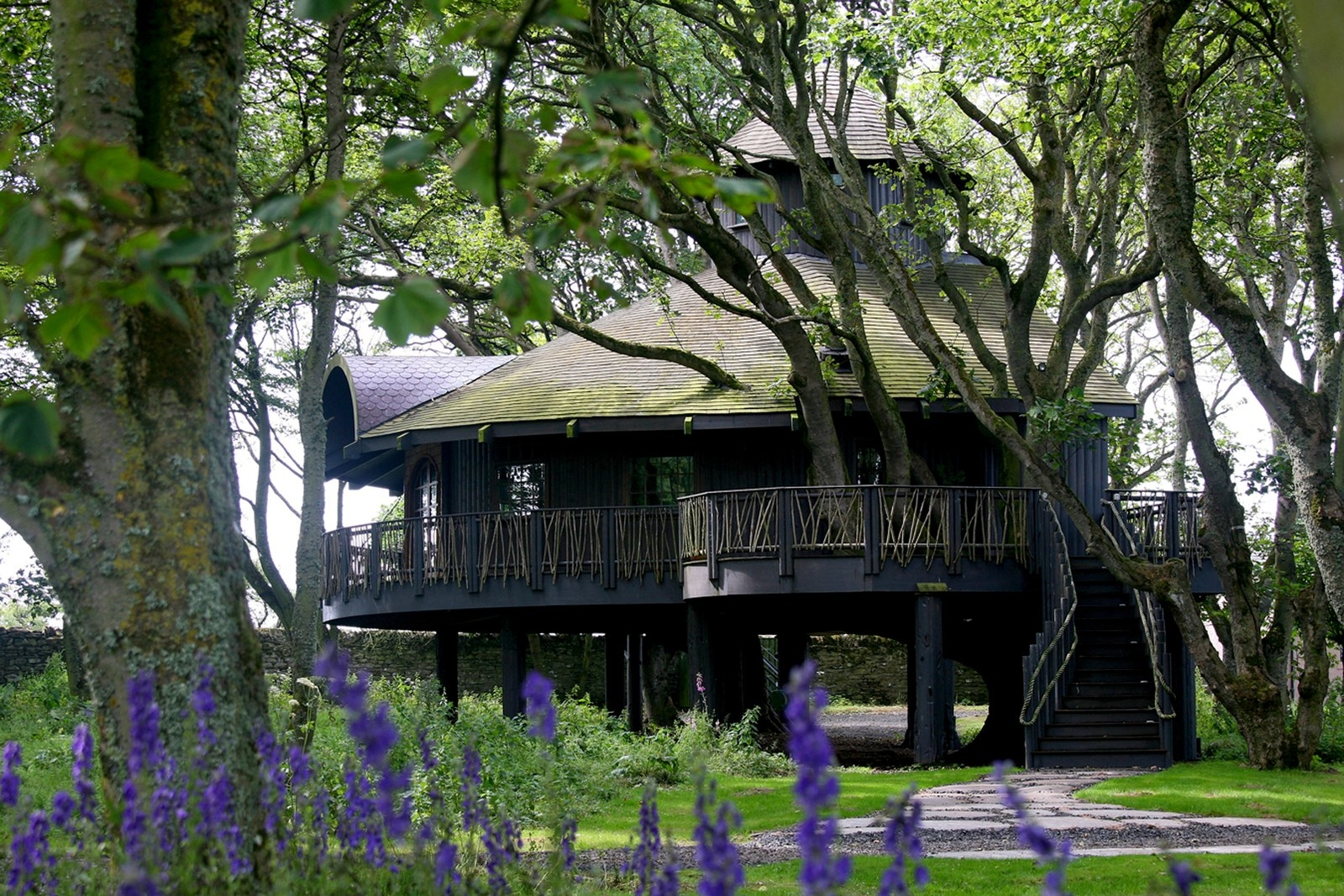 Treehouse In Scotland Part - 49: The Treehouse At Ackergill Tower, Caithness.