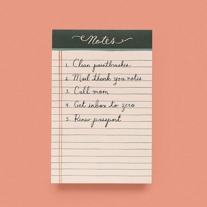 This Weekly To-Do List Setup Is Low-Key Genius