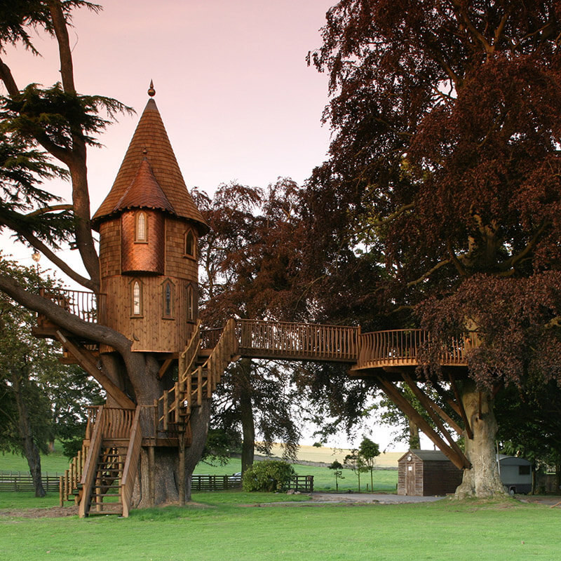 Amazing Treehouse In Scotland Part - 2: Share On Facebook Share ...