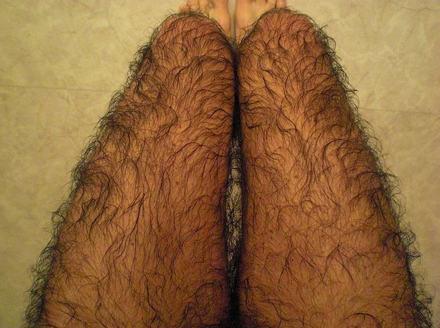 When it's cold outside, you stop shaving.