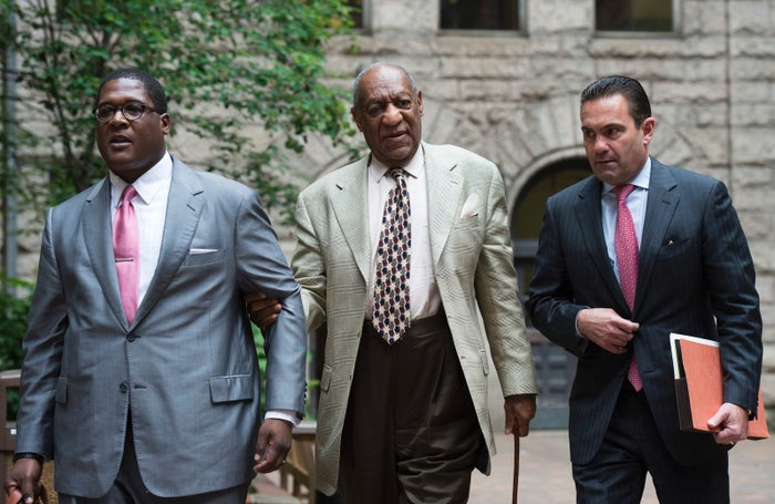 Bill Cosby leaves the Allegheny County Courthouse May 23, 2017, in Pittsburgh, Pennsylvania.