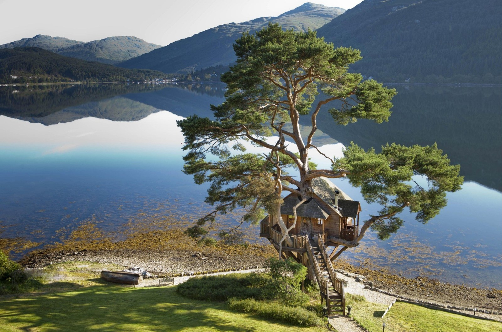 Charming Treehouse In Scotland Part - 3: The Treehouse At Loch Goil, Argyll.