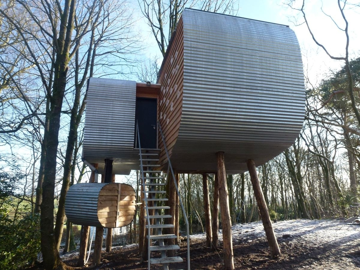 Lovely Treehouse In Scotland Part - 5: Brochloch Treehouse, Dumfries And Galloway.