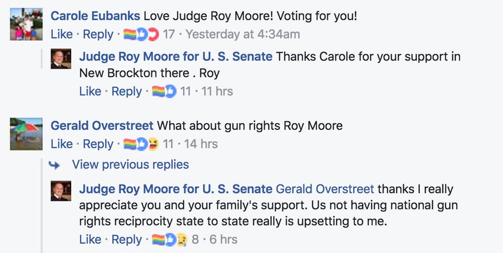 An Anti-LGBT Candidate Is Being Trolled On Facebook With This Pride