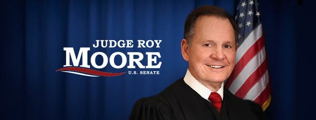 Moore is now running for the US Senate, but people have used the new Facebook feature to troll his campaign page.
