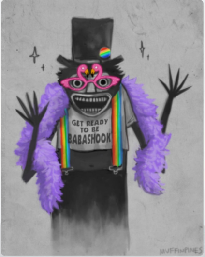 Babadook Gay Icon