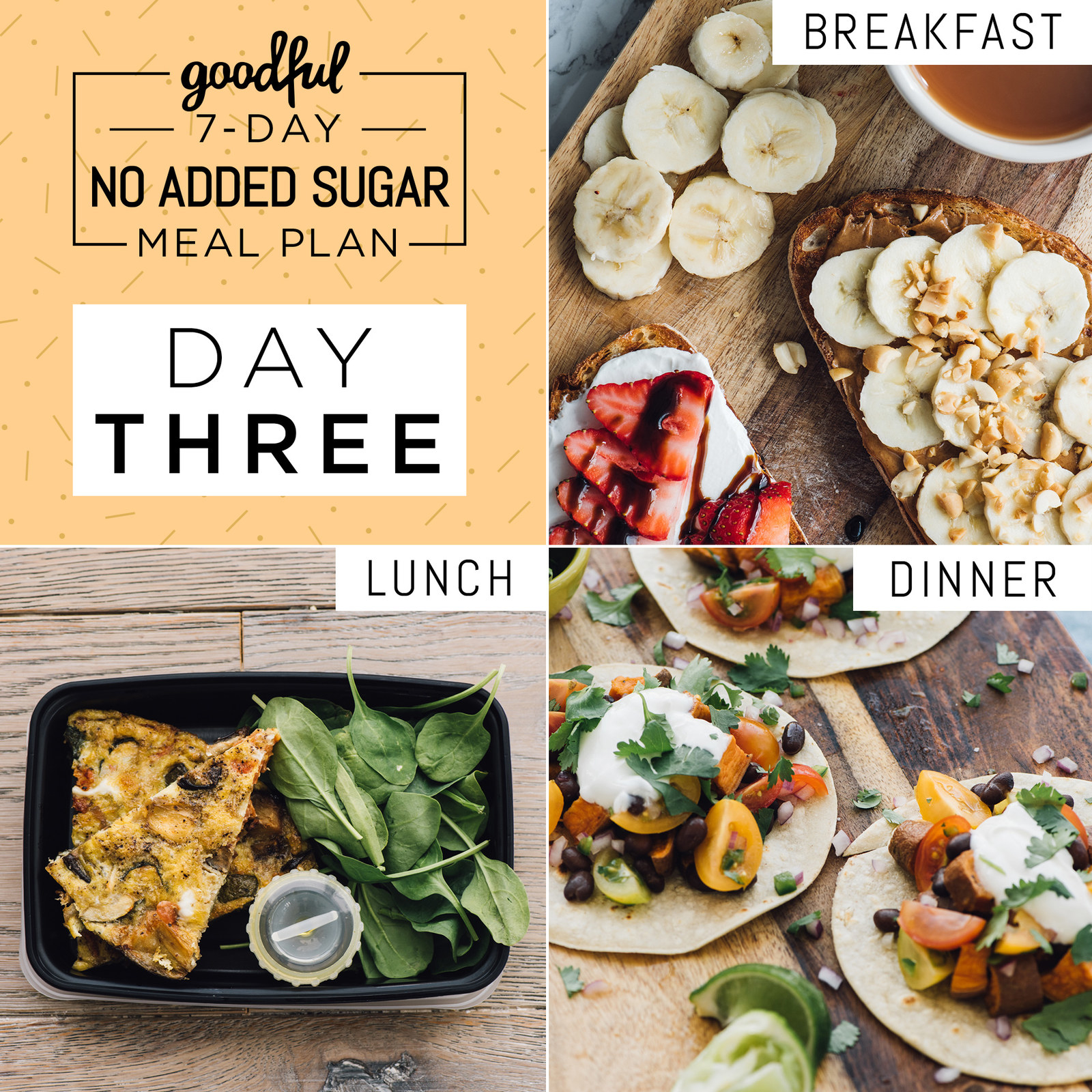 Here's A 7-Day No-Added-Sugar Meal Plan That's Actually Doable