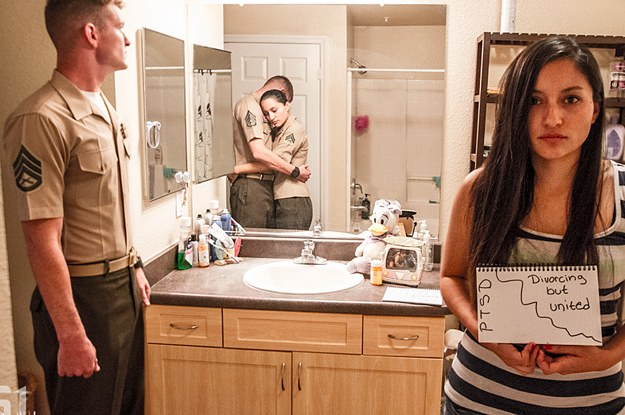 This Jarring Photo Series Captures What PTSD Really Looks Like