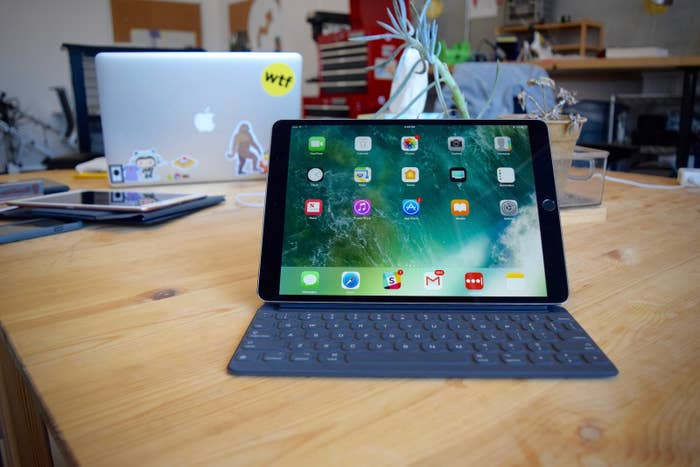 The New iPad Pro Has A Full-Size Keyboard And An Insanely Fast Processor