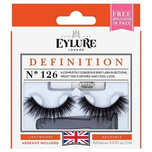"Promising Review: ""These have been my favorite eyelashes for months, even before they became all the hype. Ulta can not keep them in the stores. They're always sold out -- even online."" —VictoriaPrice: $5 (Cruelty-free.)"