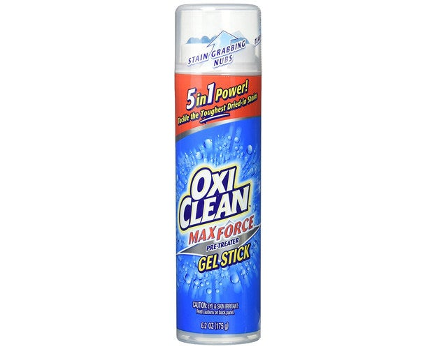 """Promising Review: """"I absolutely love this! I have a baby and get stains on his clothes all the time, (from poop to baby food to paint at daycare). I wash his clothes as usual and if a stain persists, I just grab this OxiClean stick and put some on the stain. I sometimes let it sit for a bit but usually I just throw it back in the wash and it disappears! Like magic! There have been times that I don't get around to laundry until a week or so later so the stain just sits and this thing still has no problem taking out the stain! To date, my son hasn't stained any clothes thanks to this little gem. It is definitely a must have in my household!"""" —MingoGet it from Amazon for $7."""