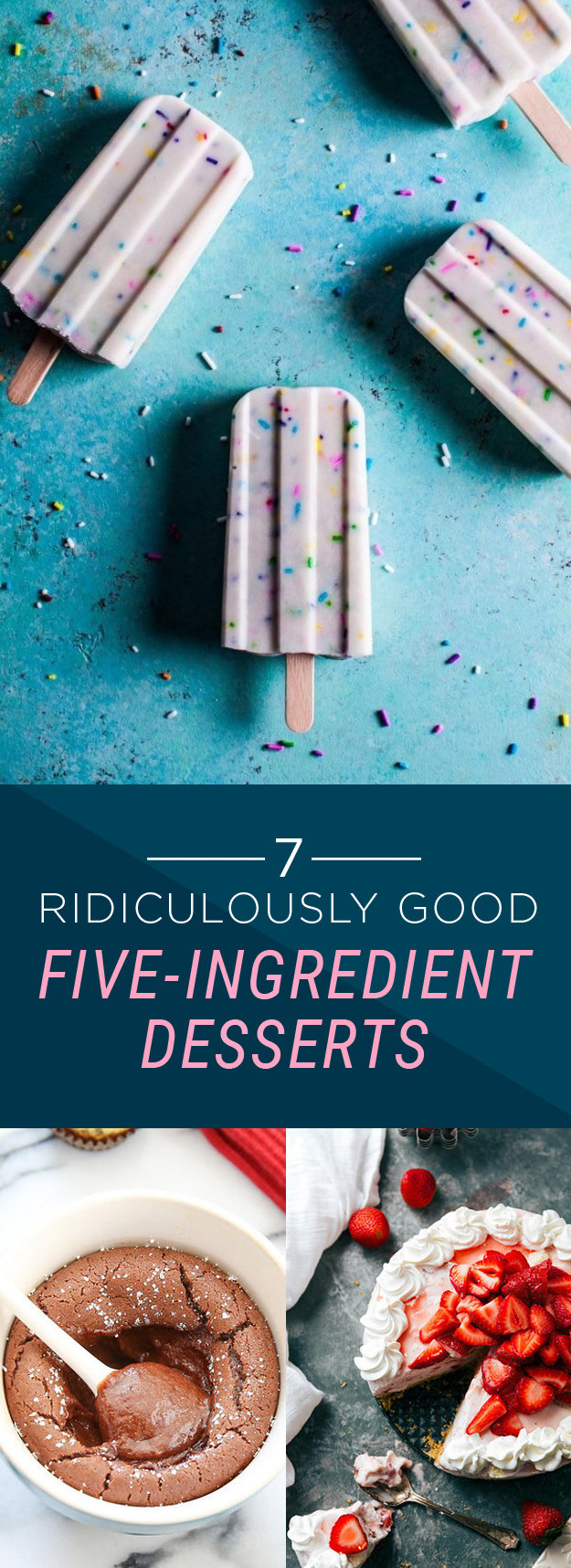 7 Ridiculously Good Five-Ingredient Desserts