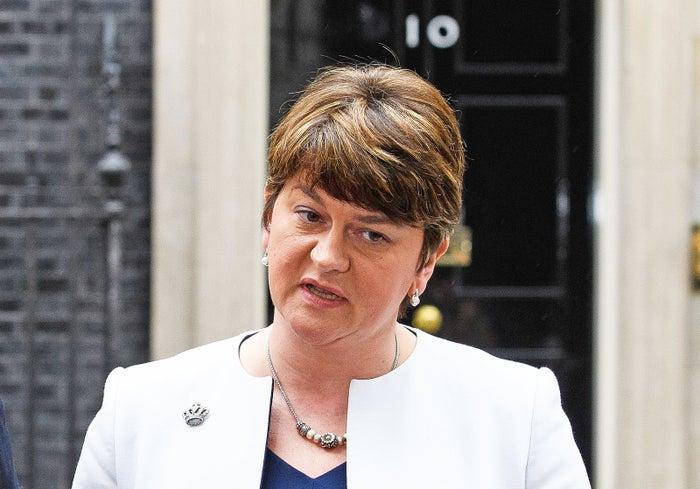 DUP leader Arlene Foster.