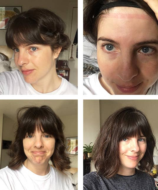 We Tried Air Dry Hairstyles And Here S What Happened
