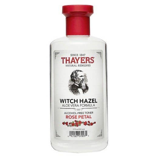 """Promising Review: """"This is the most wonderful toner I have ever used! To start, it smells like actual roses because it contains rose water. It's also very soothing on the skin, and immediately calms redness and makes my skin feel moisturized. I apply this toner after I cleanse, but before I treat, and moisturize. There aren't any harsh or unnatural ingredients, very straightforward and easy to know what you are applying to the skin. Overall a great product! P. S. I am a GUY and love this product, it can be for anyone."""" —Mark Y Price: $10 (Cruelty-free and 100% vegan.)"""