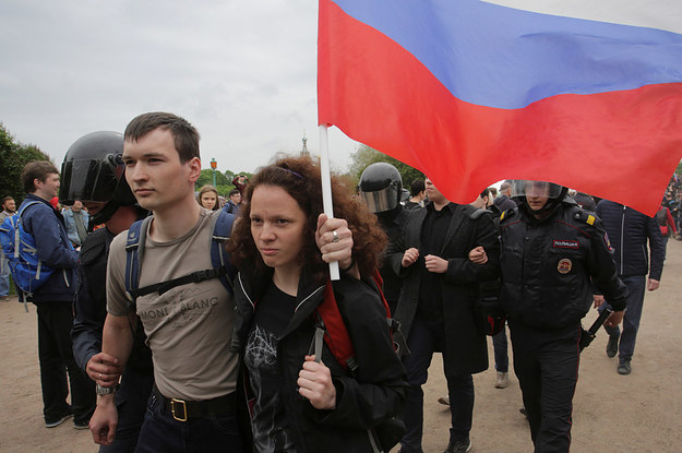 Russia Has Arrested Hundreds Of People During Nationwide Protests