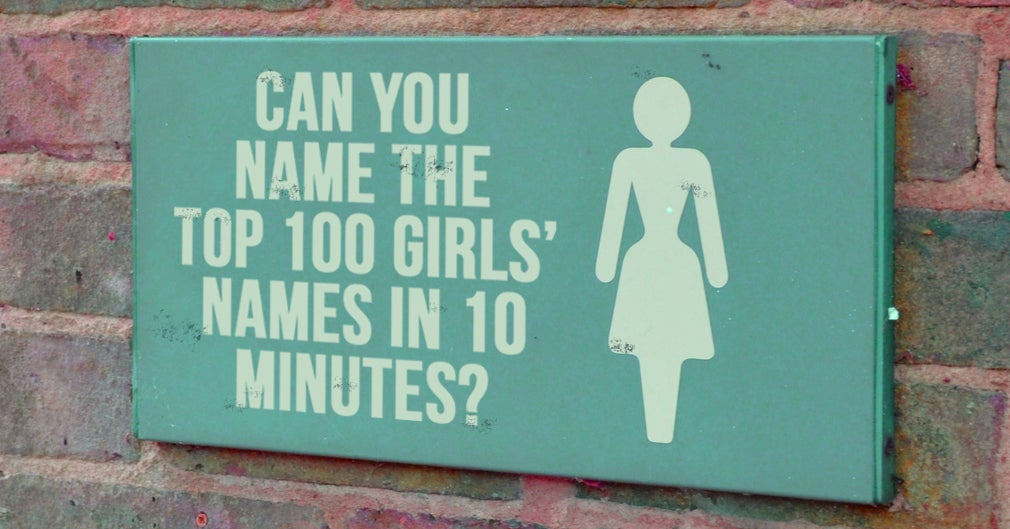 How Many Of The Top 100 Girls' Names Can You Name In 10 ...