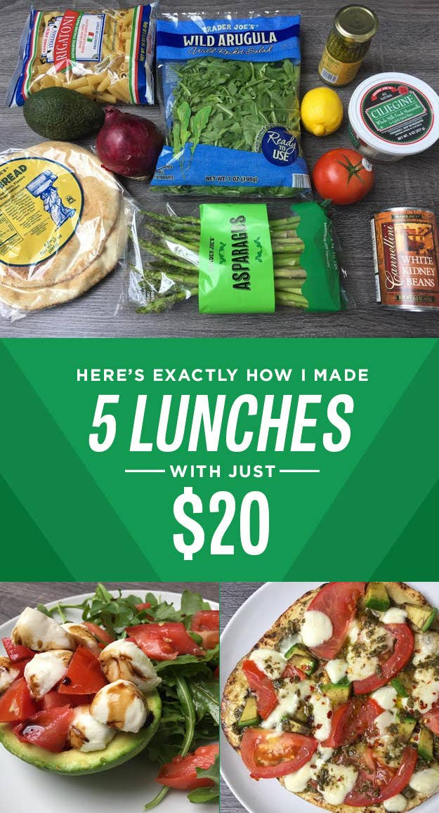 How I Made Five Trader Joe S Lunches For Less Than 20