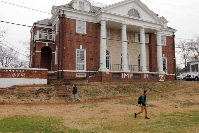 The Phi Kappa Psi fraternity house on the University of Virginia campus.