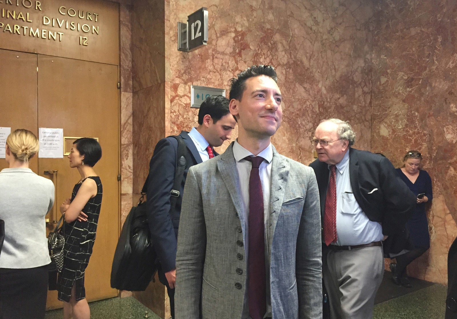 So he begrudgingly took to facebook to sell the suit and also decided - The Man Who Secretly Taped Planned Parenthood Could Be Going To Prison Alongside His Criminal Lawyers