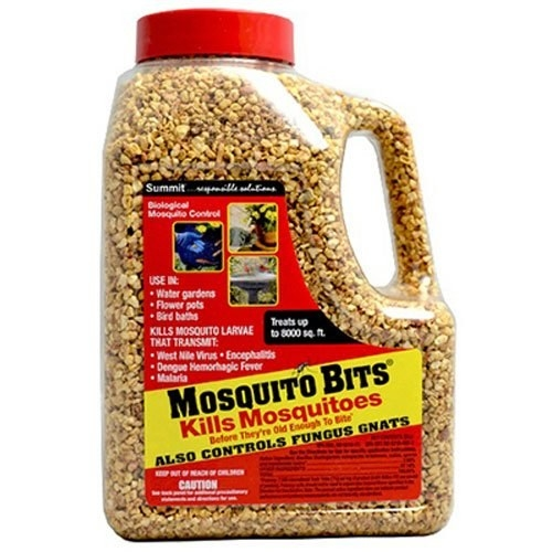 The container of mosquito bits