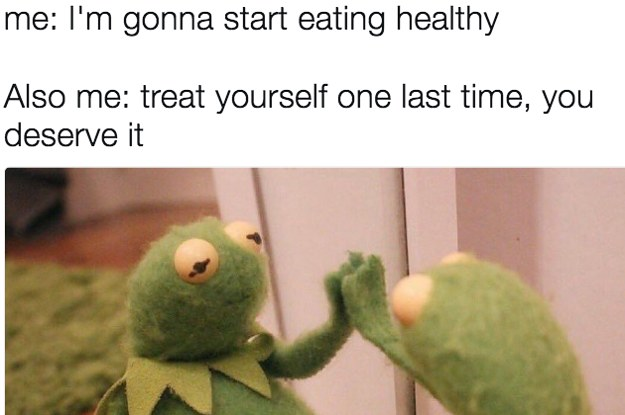 19 Tweets About Healthy Eating That Are Funny Because They're True