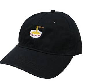 a8fec0b4a9d592 A noodle cap seems just right if you're obsessed with ramen noodles and  want a constant reminder of your broke college student days.
