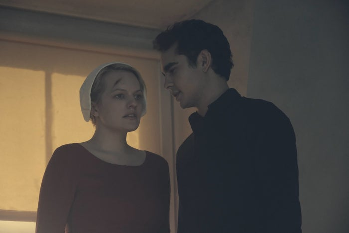 June (Elisabeth Moss) and Nick (Max Minghella).