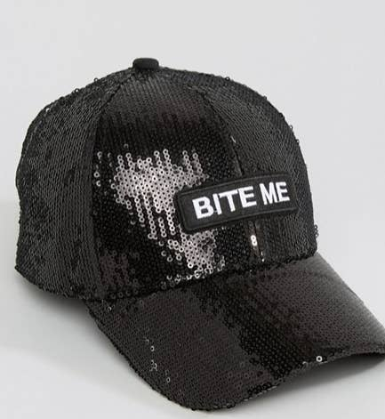 A Bite Me cap that does all of the talking for you dfb710c5545c