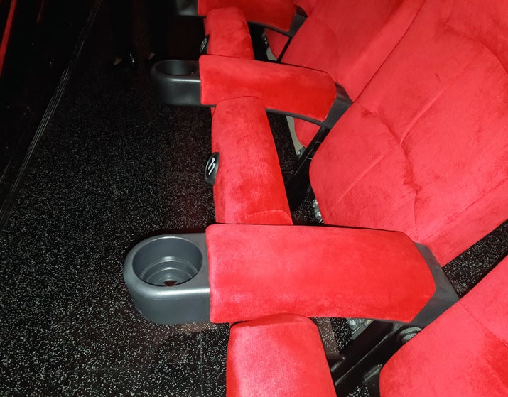 The theater chain AMC first added cup holders to their seats in 1981. CEO Stanley Durwood sought to supply AMC theaters with the most comfortable seats in order to encourage more visitors to his theaters.