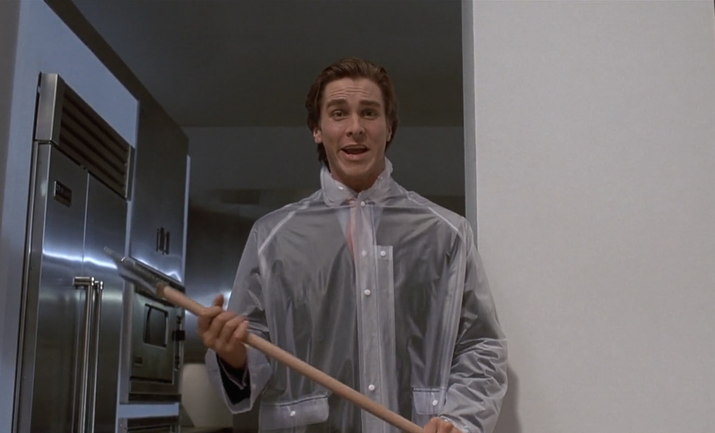 Maybe you always thought Patrick Bateman, with his '80s yuppie style and good looks, seemed familiar. Well, you were right, because the director of the movie, Mary Harron, confirmed that Bale was inspired by Tom Cruise.