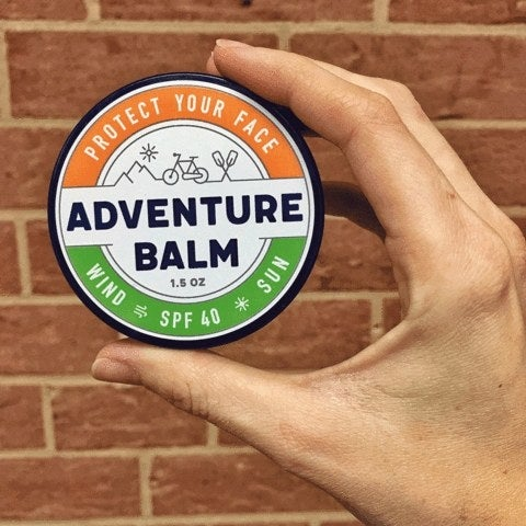 Adventure Balm was invented in Colorado to protect skier's faces from the wind and snow. However, anyone can use it in their everyday life to help block the sun and prevent windburn. Check it out for yourself at SkiBalm.com!