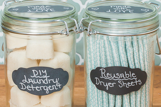 New You Can Make Diy Laundry Detergent And Reusable Dryer Sheets At Home Hf75