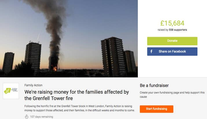 Family Action Grenfell Tower Appeal