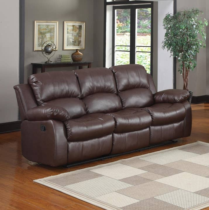 comfortable couch. Promising Review: \u0026quot;Excellent Reclining Sofa. This Is Very Comfortable Yet Firm Enough Couch