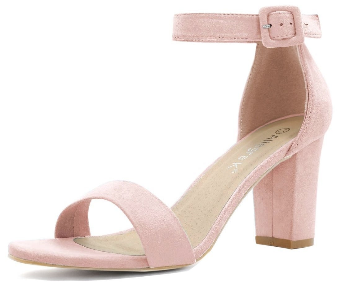 """Promising review: """"The most comfortable shoes I own. The heel height is perfect for an event with lots of walking and standing. I wear a size 7, ordered a 7, and they fit perfectly. Color is the same as the photo. I will purchase other colors!"""" —Nina CymoneGet them from Amazon for $23.09+.Sizes: 4.5-11.5. Available in 14 colors."""