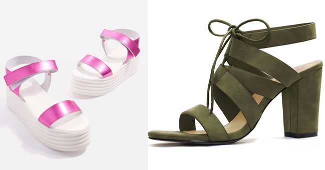 3955cd2ee8c9aa 12 Comfy Pairs Of Heeled Sandals You Can Walk In All Day