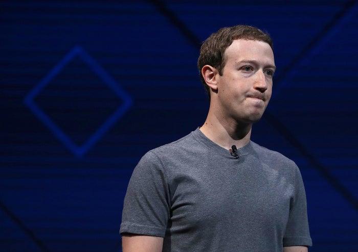 Facebook CEO Mark Zuckerberg speaks at Facebook's F8 Developer Conference on April 18, 2017, in San Jose, California.