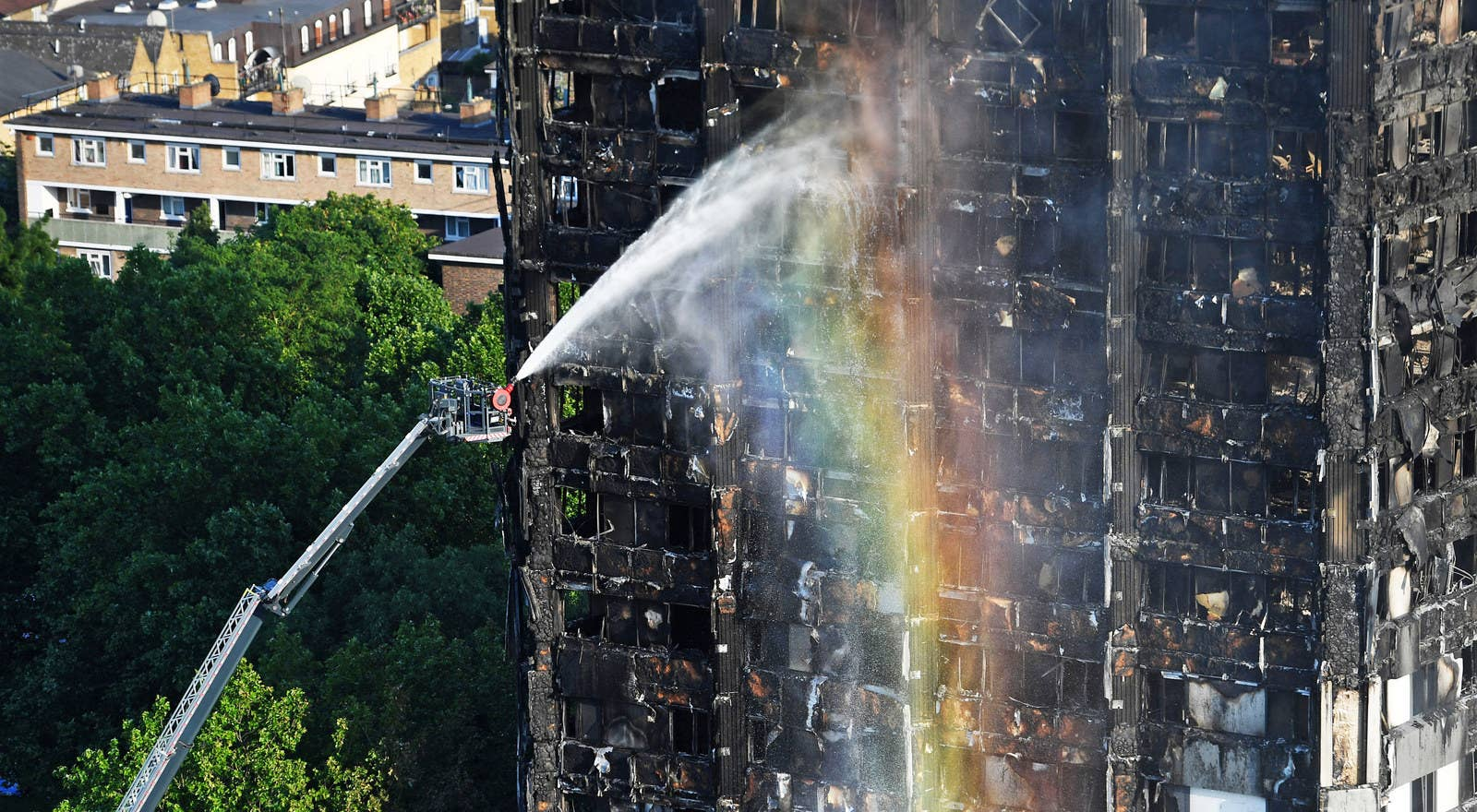 In Pictures The Aftermath Of Grenfell Tower Fire