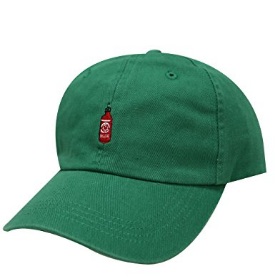 3ee32f39f2b3c0 3. A baseball hat that adds just the right amount of spice.