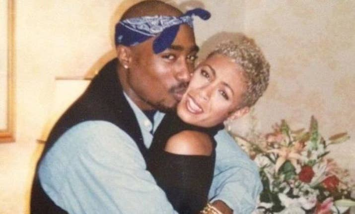 Image result for Jada Pinkett Smith's Close Friendship with Tupac Shakur