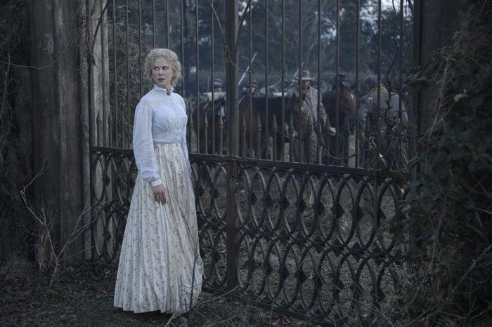 Martha (Kidman) at the gates of the Miss Martha Farnsworth Seminary for Young Ladies.