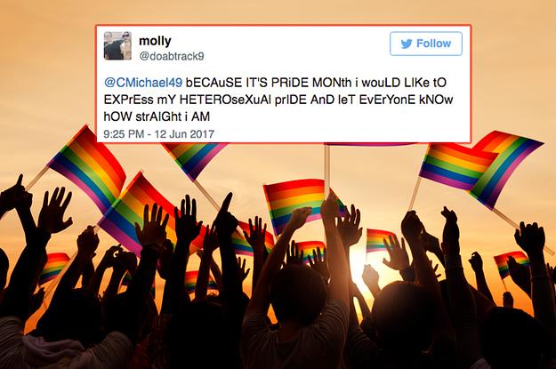 Heterosexual pride parade